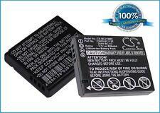 3.7V battery for Panasonic Lumix Lumix DMC-LX7K Li-ion