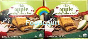 2 Packs Trader Joe's This Apple Walks Into A Bar Cereal Bars 6 Bars 7.8 oz Each