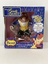 "Vintage 1992 Disney Beauty & The Beast Talk Ems #22000 The Beast JusToys 5"""