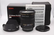 【NEAR MINT】Sigma AF 17-50mm F2.8 DC EX HSM For PENTAX From Japan