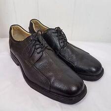 Studio Belvedere Mens Bay Bridge black leather lace tie Shoes size 11.5 D