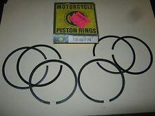 HONDA TWIN PISTON RING SET KIT  .50 2ND O/S CB-450 CB450 NOS NEW