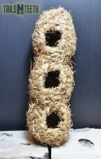 Living World Small Animal Nest - Orchard Grass Hideout - 3 Openings