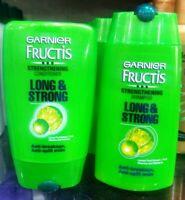 Garnier Fructis Strengthening Shampoo & Conditioner Long & Strong Hair - 80 ML