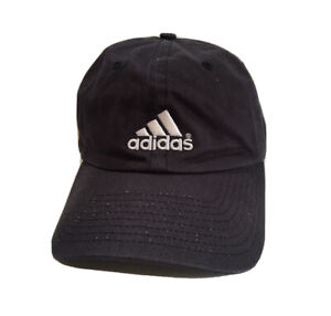Adidas Sports White Logo Gray Blue Youth Size Hat Cap Golf Sport Dad Strapback