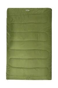 Mountain Warehouse Basecamp 200 Double Sleeping Bag Insulated Camping Outdoor