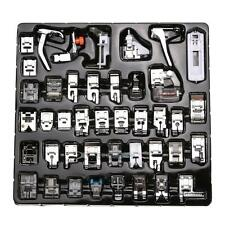 42pcs Presser Foot Sewing Machine Set Domestic For Brother Singer Janome NEW