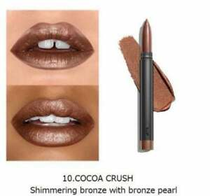 Bite Beauty Crystal Creme Shimmer Lip Crayon Cocoa Crush Full Size $24.00