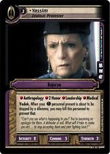 Star Trek CCG 2E Call To Arms Yassim, Zealous Protester 3R116