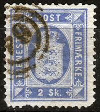 Dänemark Dienst 1, O, 2 S. Wappen