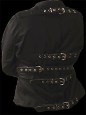 Straight Jacket straitjacket with leather straps XL