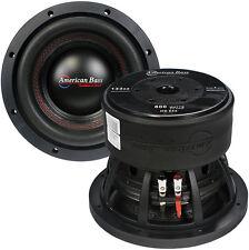 "American Bass HD844 8"" DVC 800 Watts Cast Frame 2.5"" Voice Coil"