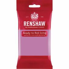 Renshaw Ready To Roll Icing Fondant Cake Regalice Sugarpaste 250g DUSKY LAVENDER