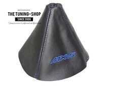 "For Mazda MX-5 MK3 2005-12 Gear Stick Gaiter Leather ""MX-5"" Blue Embroidery"
