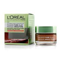 L'Oreal Skin Expert Pure Clay Mask - Exfoliate & Refine Pores 50ml Masks