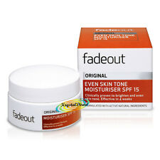 Fade Out Original incluso Tono De La Piel Crema Hidratante SPF15 50 Ml ingredientes naturales