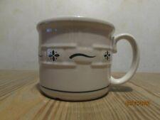 New Longaberger Souper Single Mug Woven Traditions Green
