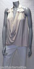 Haut beige Taille 38 / 40 pour FEMME top tunique soirée été NEUF #TAHITI E7