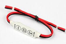 2Pcs Mini LED Strip Light Dimmer Controller with Fade Speed Burst Caravan Camper