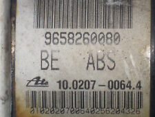 Citroen C2 C3 Peugeot 207 ABS Pump 9658260080 10.0207-0064.4 10.0970-1124.3