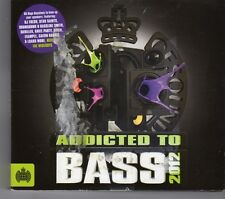 (GJ59) Ministry Of Sound, Addicted To Bass - 2012 CD