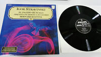 Igor Stravinski El Vogel de Fire LP Vinyl VG + Spanisch Ed Philips