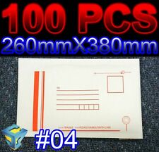 100 #04 Envelope 260x380mm Bubble Mailer Padded Bag