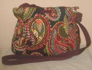 VERA BRADLEY Hadley Crossbody Bag in Heirloom Paisley  *NWT* $78.00