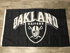 Oakland Raiders 3X5 Oakland Nation Flag Same Day Ship From California oaktown