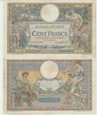 Billets de la banque française de 100 francs sur Luc Olivier Merson