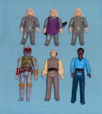 vintage STAR WARS FIGURE LOT #66 Ugnaught x3, Lando Calrissian, Lobot, Boba Fett