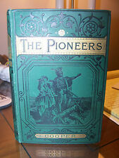 James Fenimore Cooper THE PIONEERS Routledge Illustrated 1st ed. 19th century