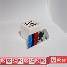 BMW M-Sport Chrome Metal Car Front Grille Badge Emble Sticker M3 M5 M6 E X 1 3 5