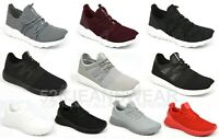Crosshatch Mens Lightweight Lace Up Mesh Athletic Trainer Shoes, BNWT