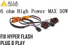 Alla Lighting 3157A LED 50W 6ohm Load Resistor Adapter Anti Hyper Flashing Error