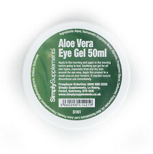 Aloe Vera Eye Gel 100ml Help Rejuvenate Skin & Reduce Puffiness Around The Eyes