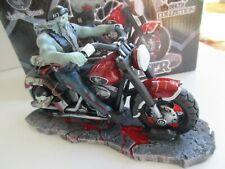 James Ryman Nemesis Now Zombie Biker  On Mororbike Boxed