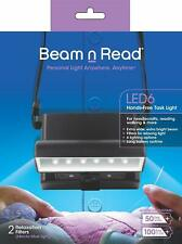 Beam n Read Led 6 Hands-Free Task Light; Extra Wide Extra Bright Light from 6