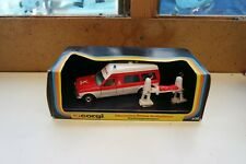 Corgi 406 Mercedes Bonna Ambulance FALCK Rettungwagen Red / White Nr Mint Boxed