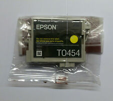Originales Epson t0454 amarillo Yellow c64 c66 c84 c86 cx3650 cx6400 Stylus