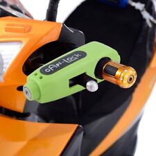 Motorcycle Scooter Handlebar Grip Lock Anti Theft Brake Lever Security USA HM