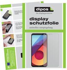 2x LG Q6 Film de protection d'écran protecteur antireflet dipos