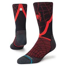 Stance x Marvel Spider-Man Socks Large Men's 9-13 Infiknit Run Socks Spiderman