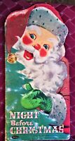 "VINTAGE  ""NIGHT BEFORE CHRISTMAS""  FLORENCE SARAH WINSHIP 1958 WHITMAN"