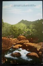 SOUTH CHIMNEY AND SCENIC RAPIDS postcard THE Great Smoky Mountain National Park