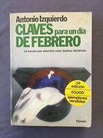 CLAVES PARA UN DÍA DE FEBRERO - Antonio Izquierdo