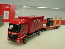 HERPA Mercedes Arocs scholpp container camion, TU3 U.Muletto - 306232 - 1/87