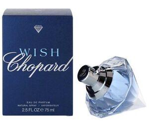 Wish by Chopard Eau De Parfum Spray 2.5oz 75ml Women Perfume New sealed Box