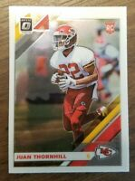 Juan Thornhill 2019 Panini Optic Rookie Card RC Cheifs !!
