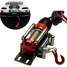 Steel Auto Crawler Winch Control System For 1/10 RC Crawler Truck Axial SCX10